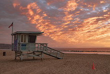 Lifeguard Station With America...