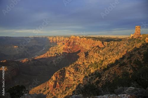 Desert View Watchtower In Grand Canyon National Park Kaufen Sie