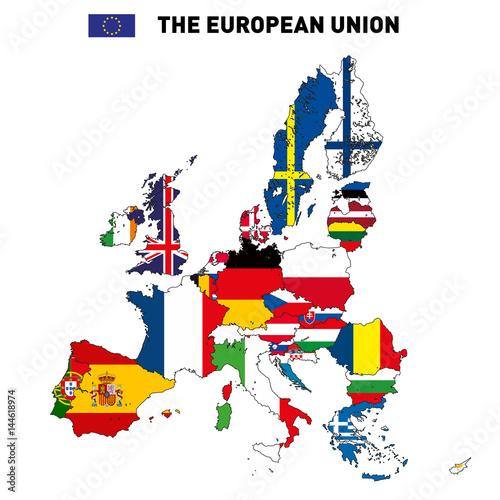 wektorowa-mapa-unii-europejskiej