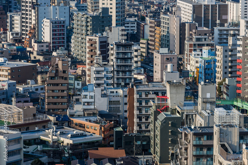 Cadres-photo bureau New York 東京都北区の都市風景2