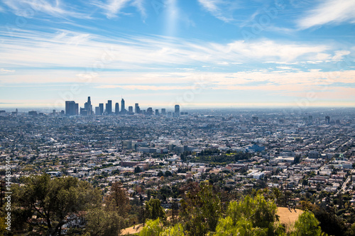 Downtown Los Angeles skyline view - Los Angeles, California, USA