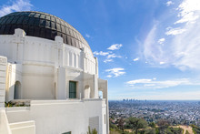 Griffith Observatory And City ...