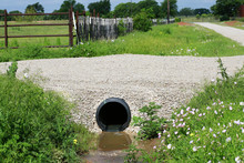 Drainage Pipe: New Culvert Und...