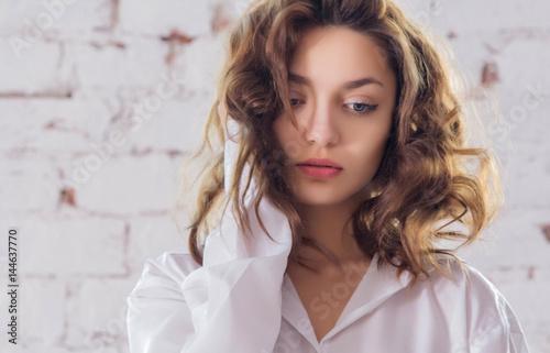 Photo  Girl with a gun