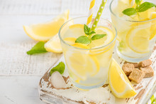 Cold Refreshing Summer Drink W...
