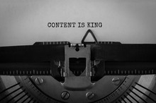 Text Content Is King Typed On ...