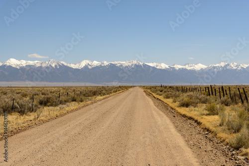Fotografie, Obraz  Road to Mountains