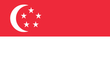 Flag Of Singapore, Singapura, ...