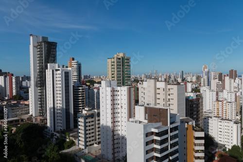 Foto op Aluminium New York Buildings in the city of Salvador Bahia Brazil