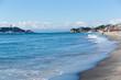 Yuigahama coast of Shonan of Japan