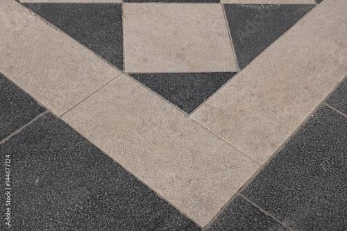 Fototapety, obrazy: checkered floor