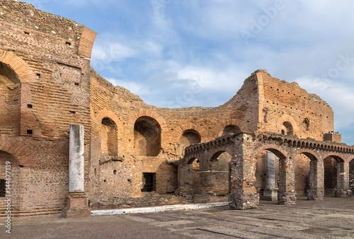 Photo  Rome, Italy. Ruins of the villa Quintili, II century AD
