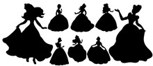 Vector, Collection Of Silhouet...