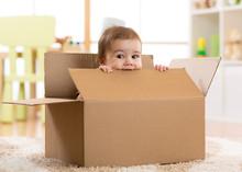 Pretty Baby Inside A Box