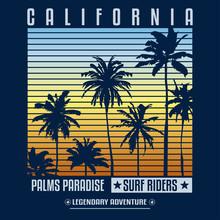 California Surf Summer Beach C...