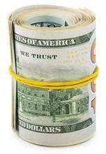 Americans Dollars In Roll
