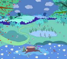 Card, Children's Illustration,...
