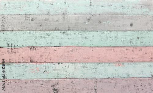 Fotografie, Obraz  Shabby Chic Wood Background