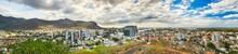 Panoramic View Of Port Louis, Mauritius