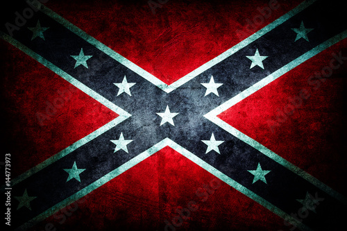 Photo Confederate flag