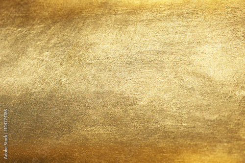 Fototapeta Gold background or texture and gradients shadow