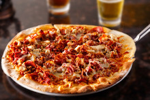 Meatlovers Pizza And Beer