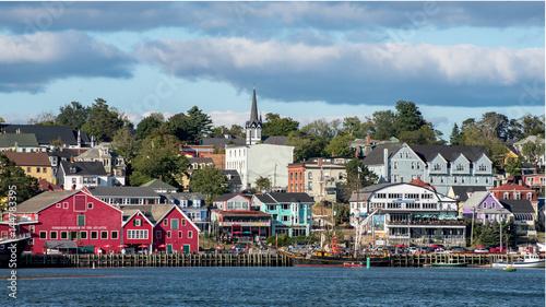 Fotografia Waterfront fisheries, Lunenburg, Nova Scotia