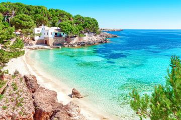 Cala Gat Mallorca Strand Urlaub Spanien