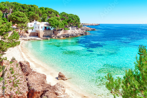 Foto-Rollo - Cala Gat Mallorca Strand Urlaub Spanien