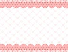 薔薇 レース フレーム