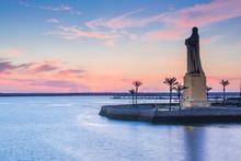 Discovery Faith Christopher Columbus Monument In Palos De Frontera, Spain
