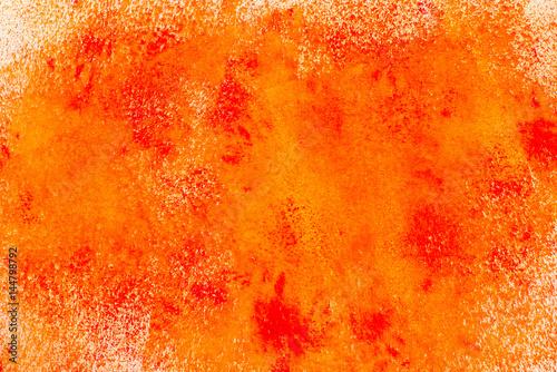 Plakat pomarańczowe malowane tekstury tła