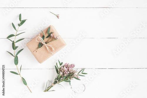 Photo  Flowers composition