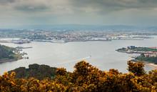Aerial View Of Ferrol, In Spain
