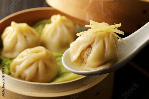 Fotografía  小籠包 Soup dumpling