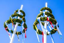 Typical Bavarian Maypole