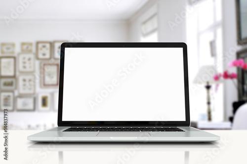 Fotografie, Obraz  mock up devices in interior. 3d rendering, 3d illustration