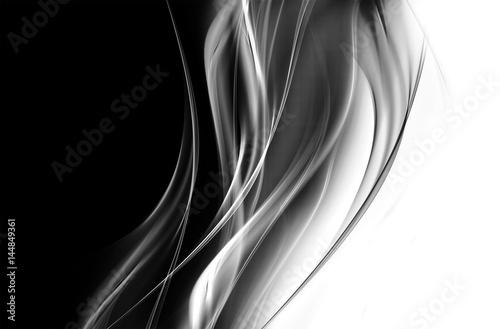 Fotobehang Fractal waves Modern Exclusive Design