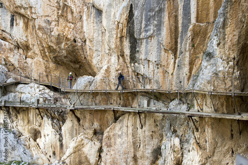 Photo  Hiking the Caminito del Rey - Spain
