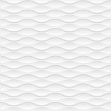 White geometric texture. Vector background - 144877360