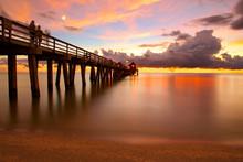 Naples Pier Beach Florida