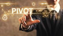Pivot Text With Businessman