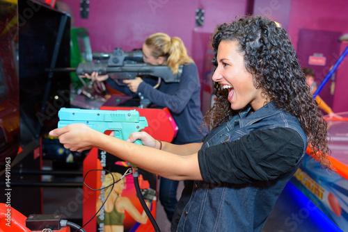 Photo fun at the arcade