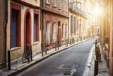 Fototapeta Uliczki - Sunlight in Toulouse
