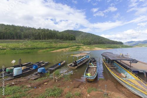 Foto op Aluminium Arctica Ship at Mae Ngad Dam and Reservoir in Mae Taeng Chiang Mai Thailand