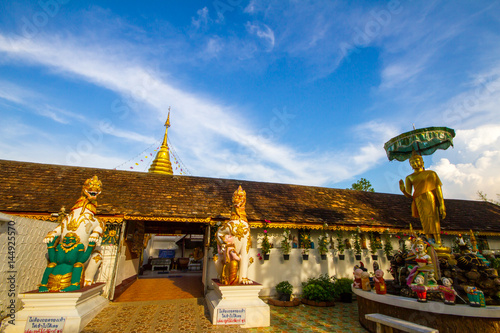 Foto op Aluminium Florence Doi Kham Temple in Chiang Mai Province Northern Thailand. A Famous temple in Chiang Mai.