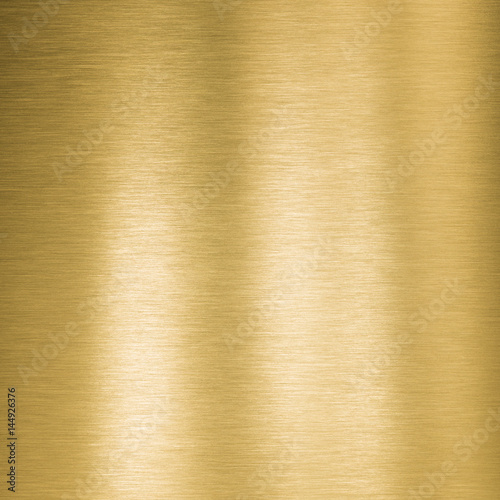 Photo sur Toile Les Textures square gold metal plate