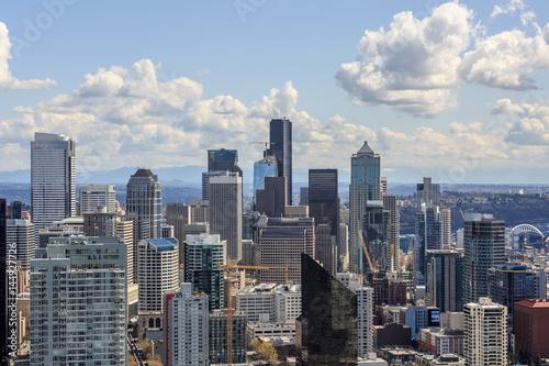 Photo  Seattle Skyline