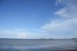 Blue sky at blue beach