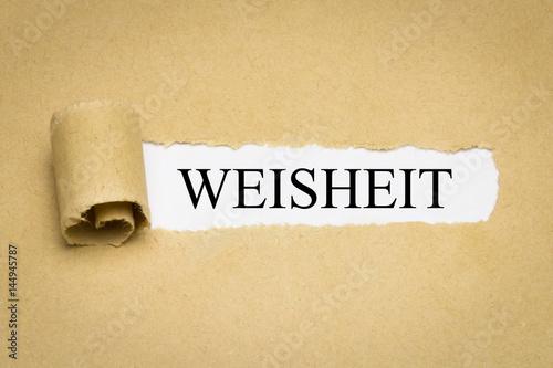 Fotografía  Weisheit